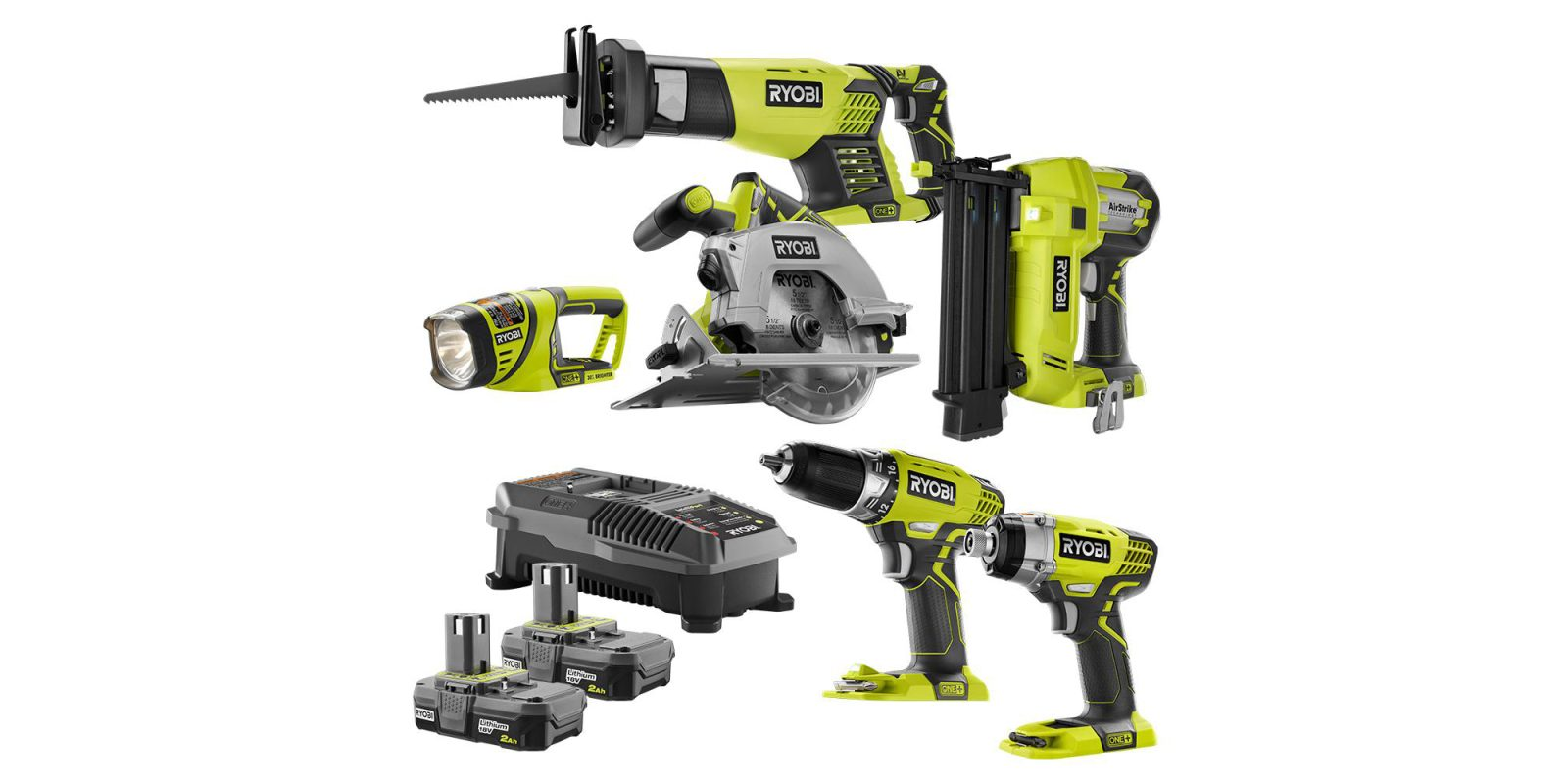 Ryobi includes six tools, multiple batteries, more in this $279 kit (Reg. $325+)