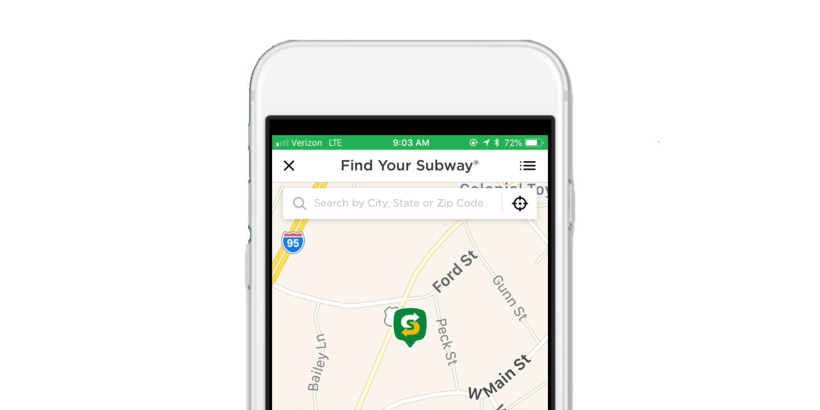 Download this app and get a $6 Subway credit
