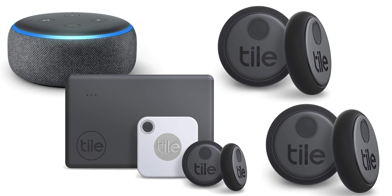 Buy Tile's new Bluetooth trackers and get a FREE Echo Dot, bundles from $60