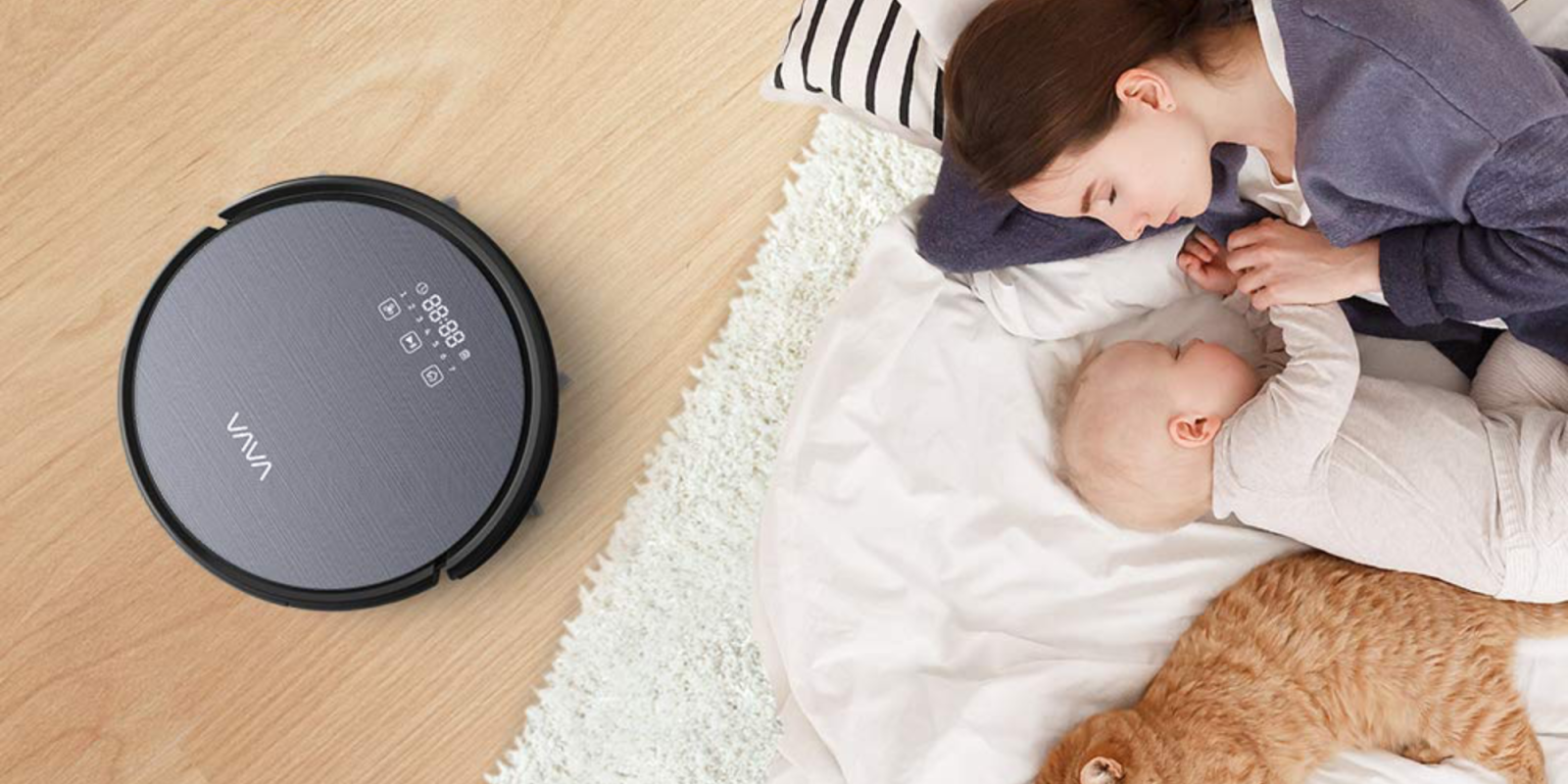 Cleaning has never been easier than VAVA's robot vacuum: $136 (30% off)