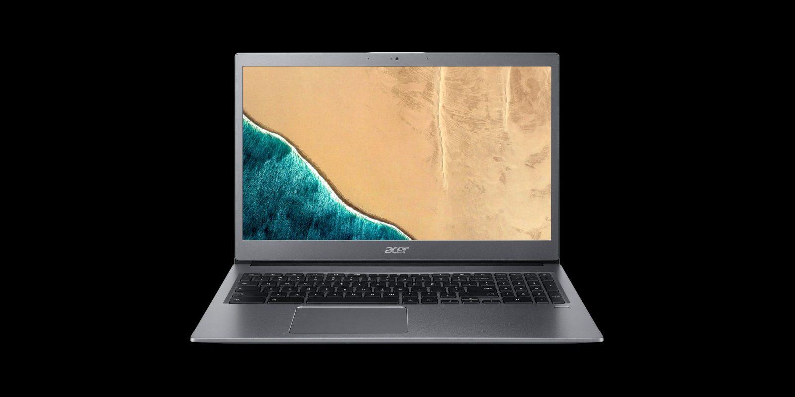 Acer's all-aluminum 15-inch Chromebook has 128GB of storage: $299 (Reg. $379)