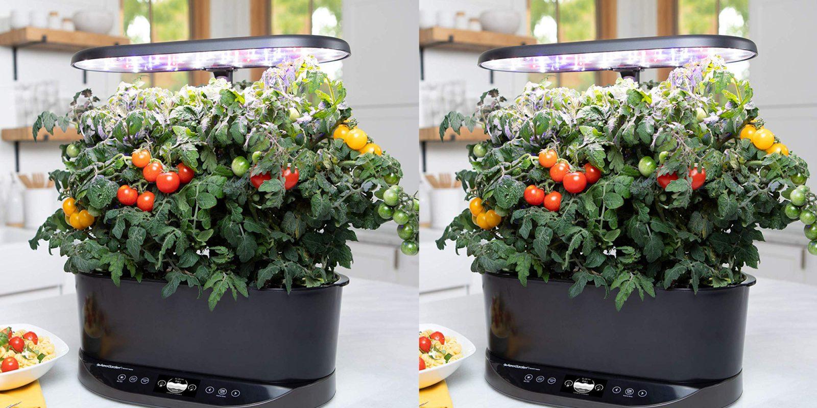 AeroGarden's Bounty Basic Indoor Garden is down to $160 at Amazon ($140 off)