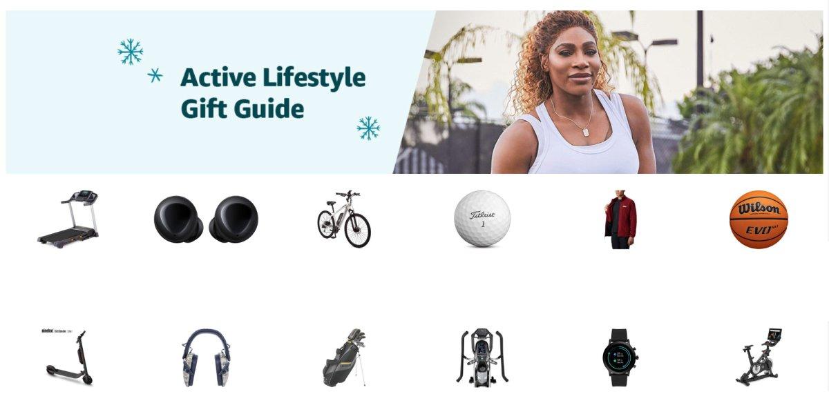 Amazon active lifestyle gift guide