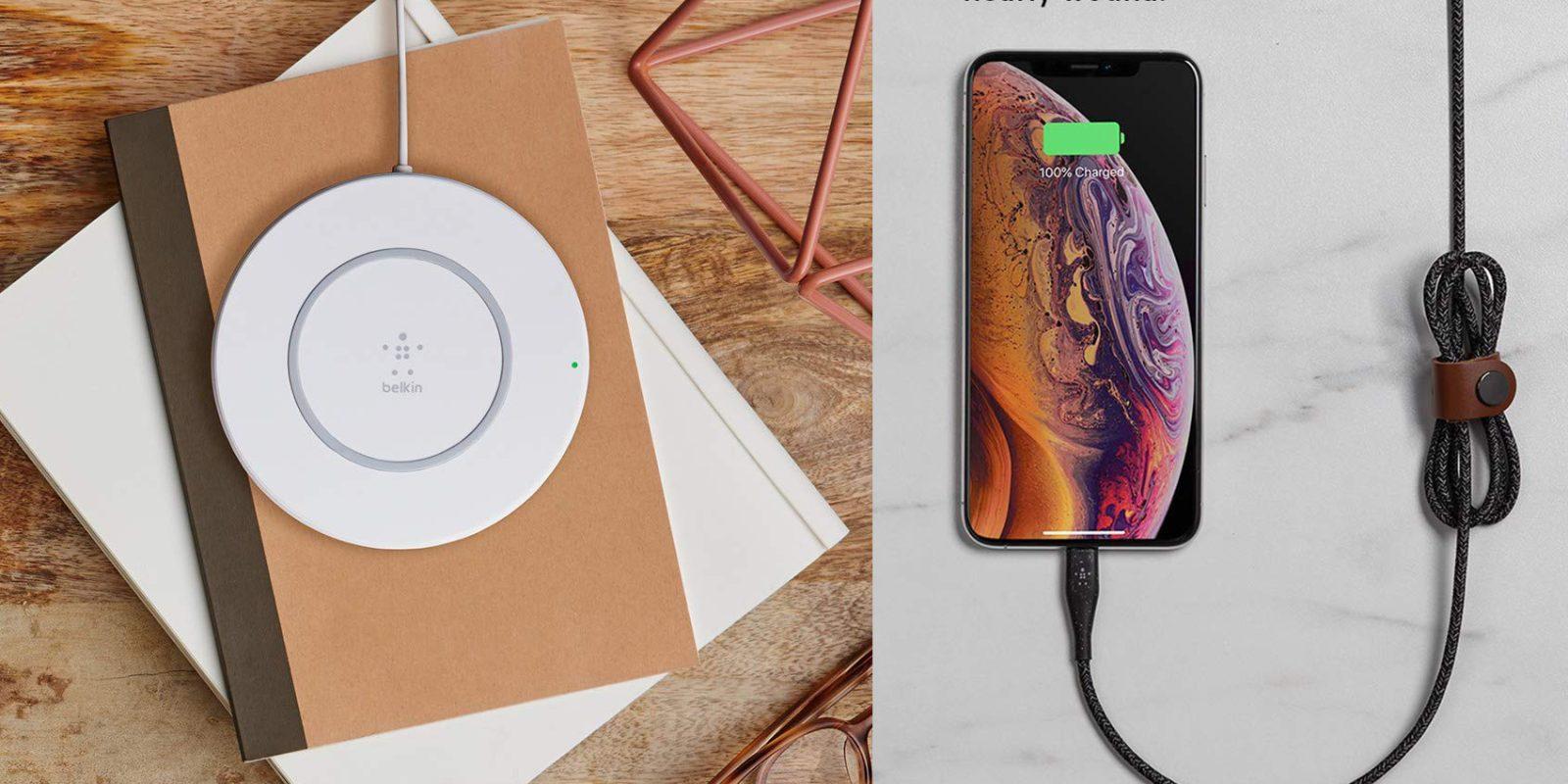 Amazon wireless charging accessory sale from $12: Belkin, mophie, iOttie, more