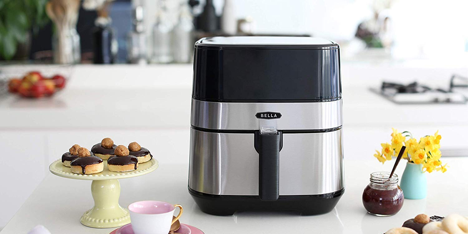 Bella's Steel 5.3-Qt. Air Fryer with touch screen now $70 shipped (Reg. $96+) - 9to5Toys