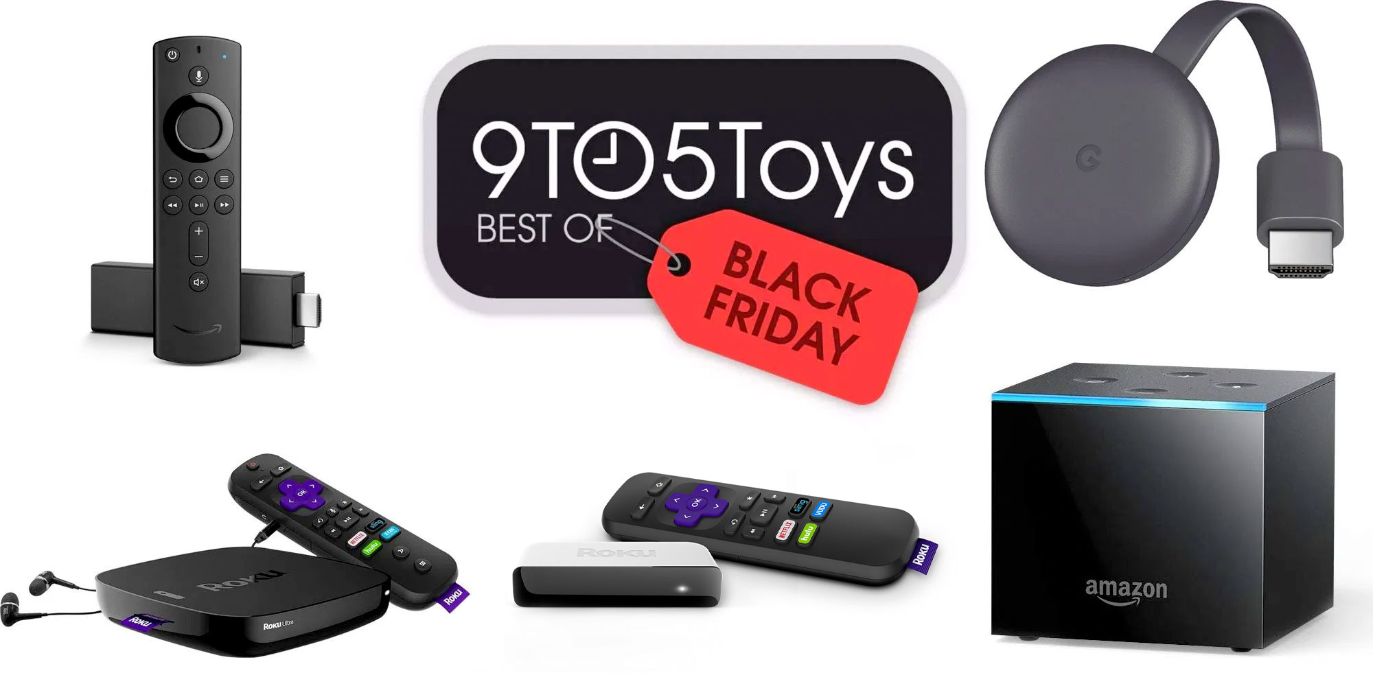 Best of Black Friday 2019 – Streaming Media Players: $20 Fire TV, $35 Chromecast bundle, more
