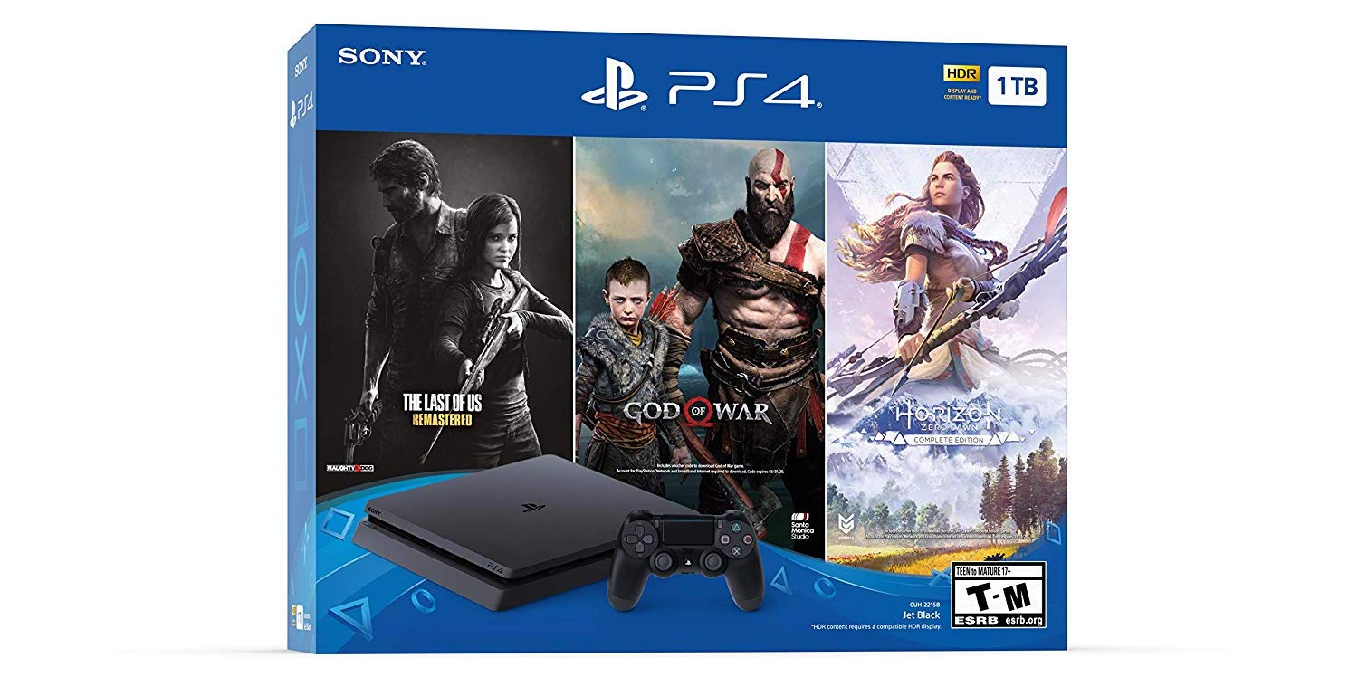 Best Black Friday console - PS4 offers