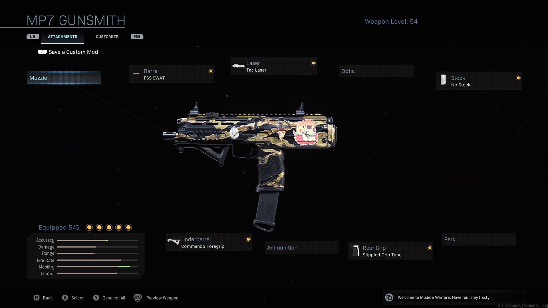 Call of Duty Modern Warfare Review MP7