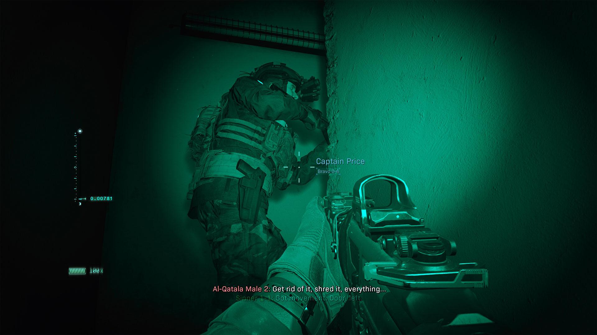 Modern Warfare Review Night Vision