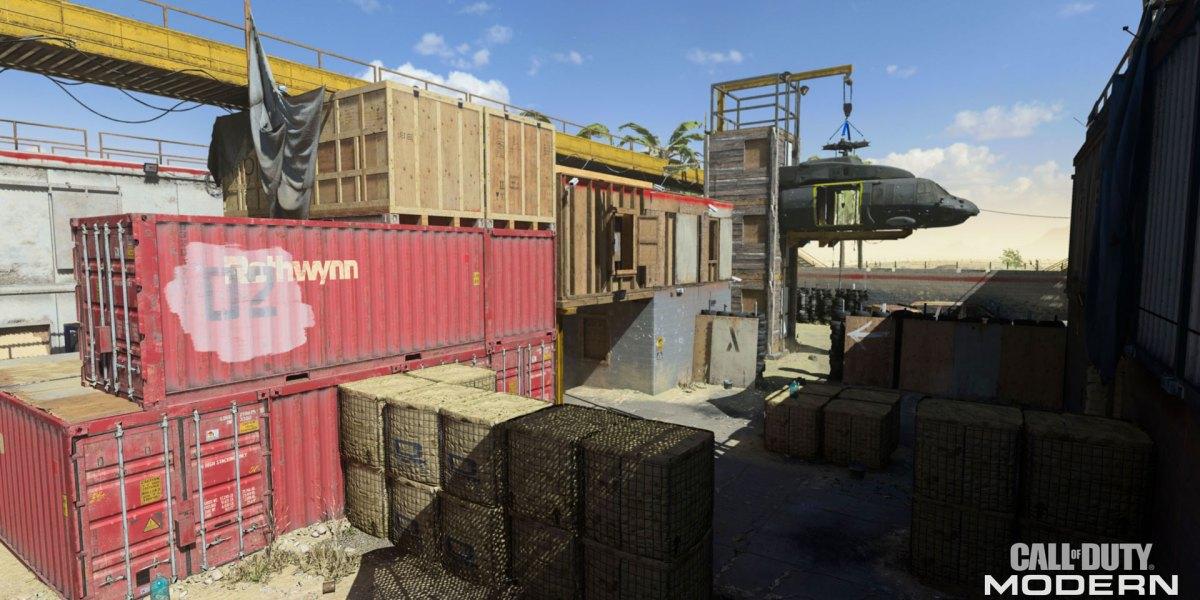 Call of Duty Modern Warfare Shoot House