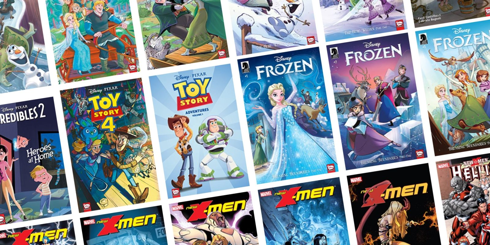 Score Frozen, Toy Story, and other Disney comics on sale from $1 at ComiXology