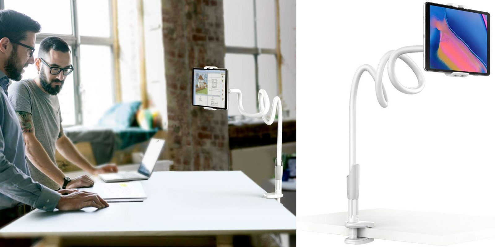 Keep your iPad or Nintendo Switch in view with this $11.50 gooseneck holder
