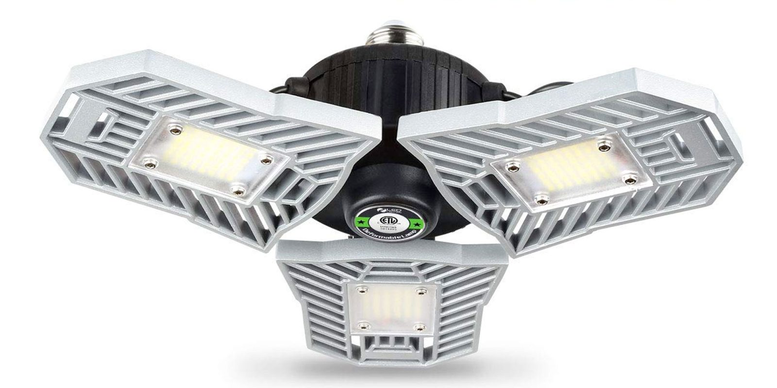 Every garage deserves this 6,000 lumen LED light at $27 shipped (30% off)