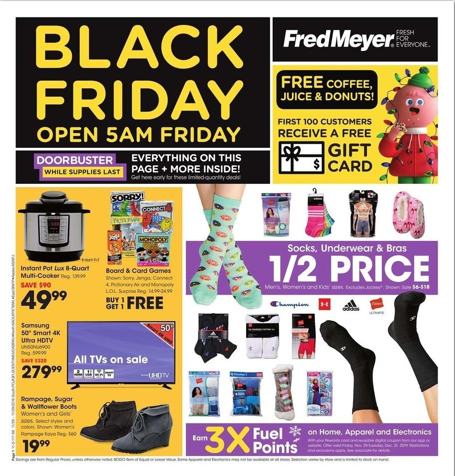 Fred Meyer Black Friday