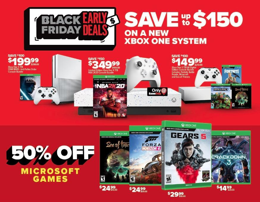 GameStop Black Friday preview Xbox