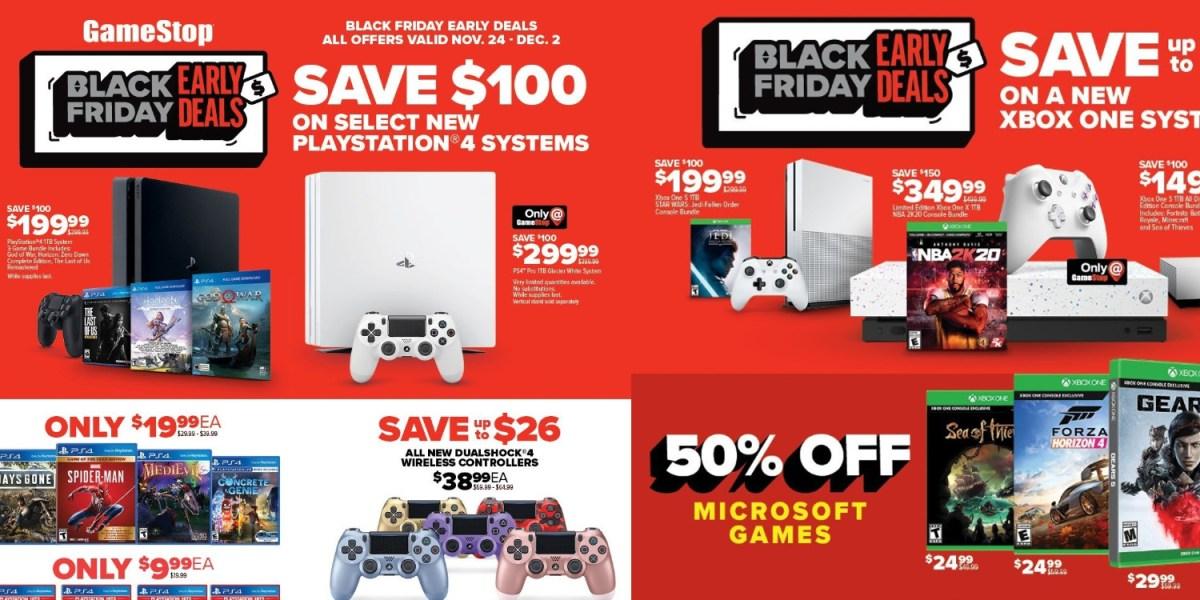 GameStop Black Friday preview details