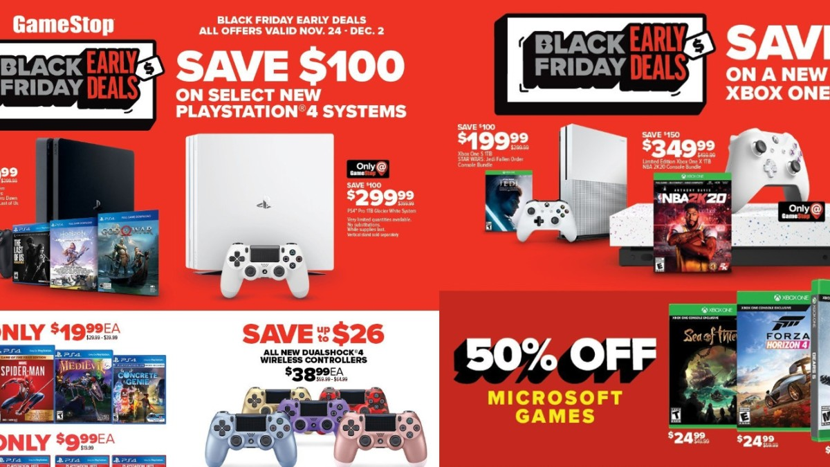 GameStop Black Friday preview details
