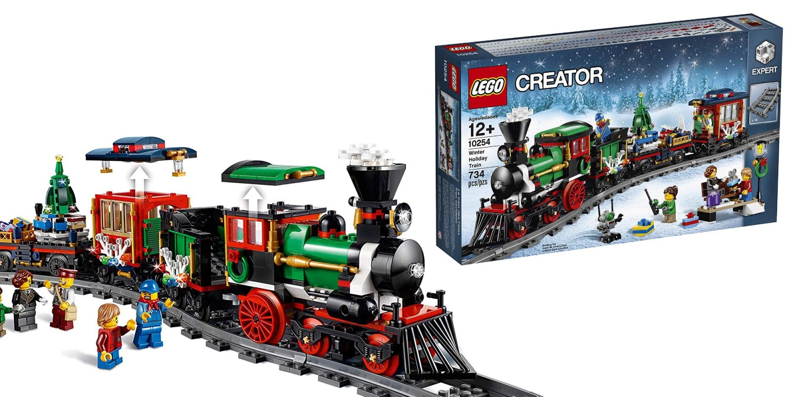 LEGO's Creator Winter Holiday Train drops to new low at $84.50, more from $17