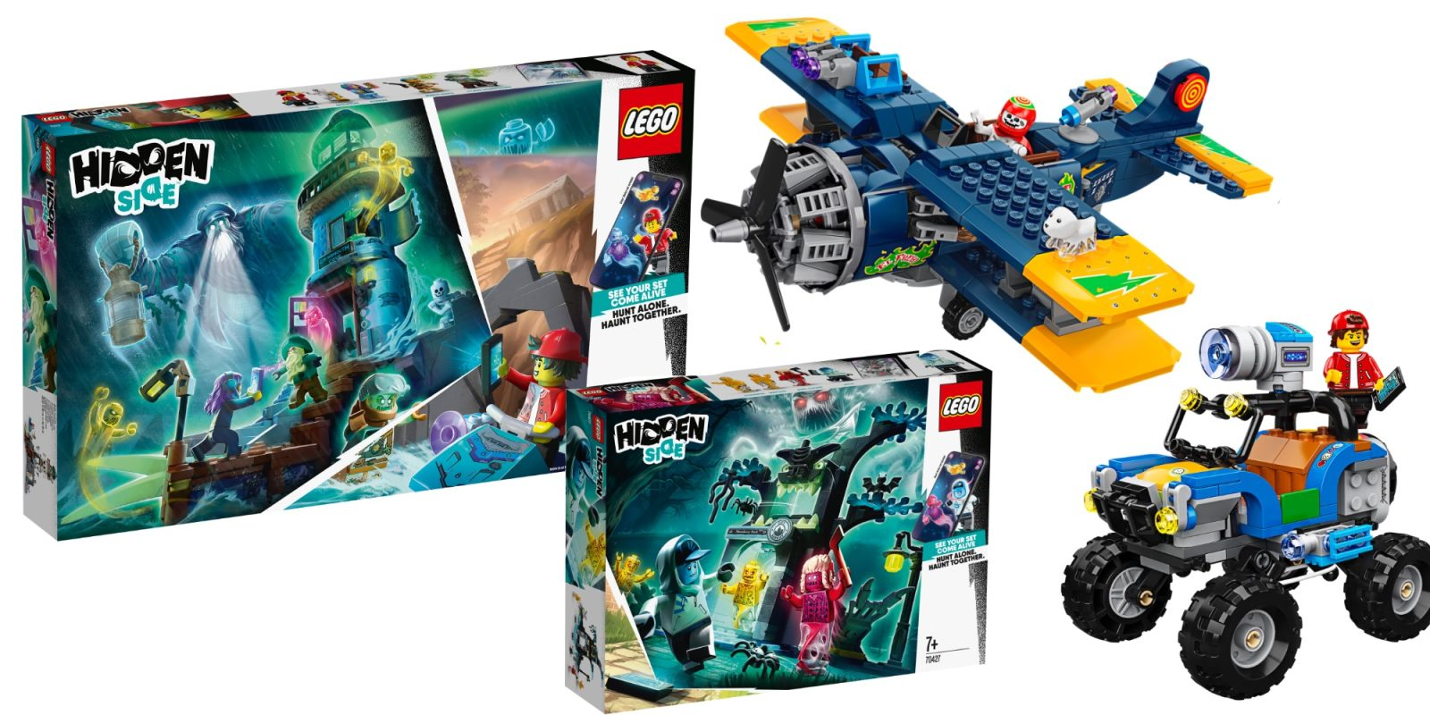 New Lego Sets 2020.Lego Hidden Side Theme Expands With Six Ar Packed Kits