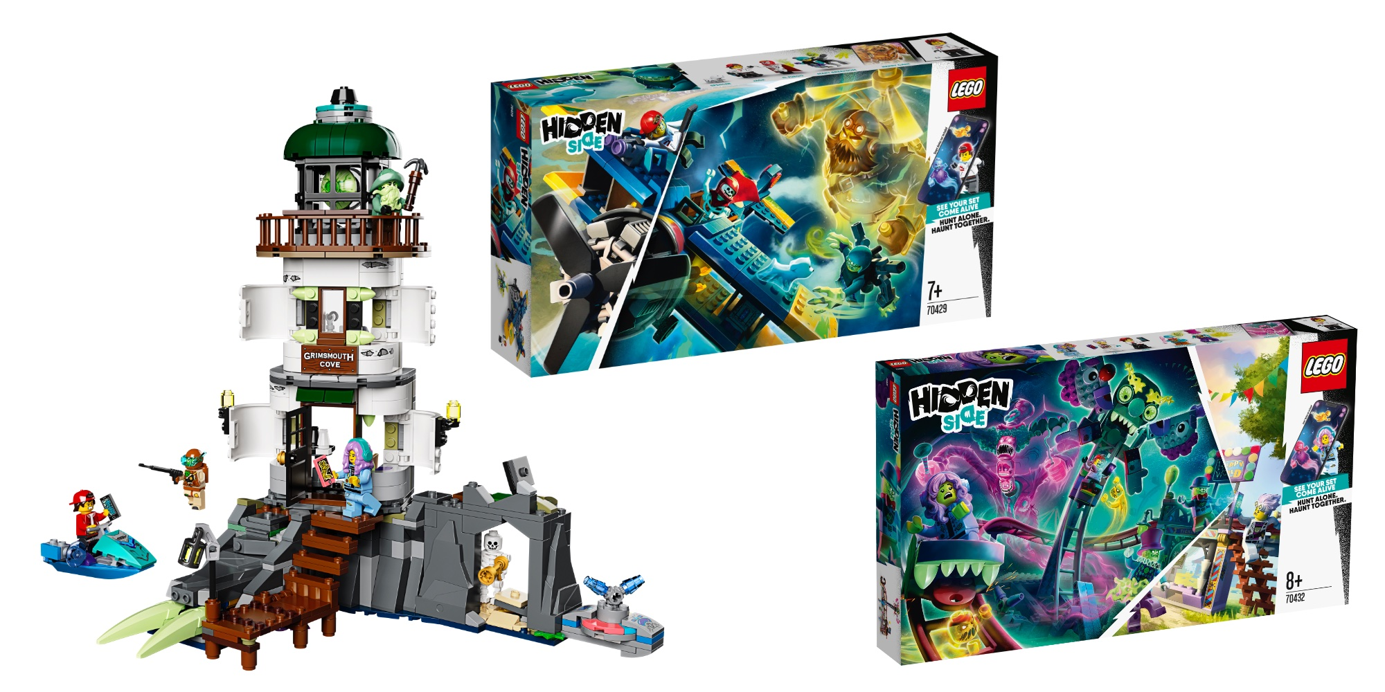 lego hidden side theme expands with six arpacked kits