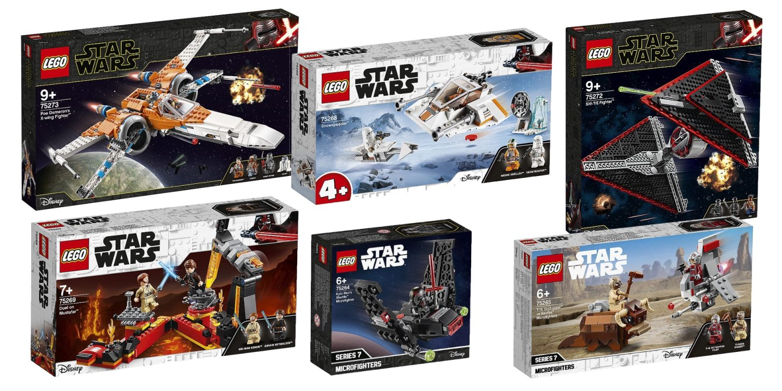 Check out LEGO's upcoming 2020 Star Wars, Creator, City, and Technic sets
