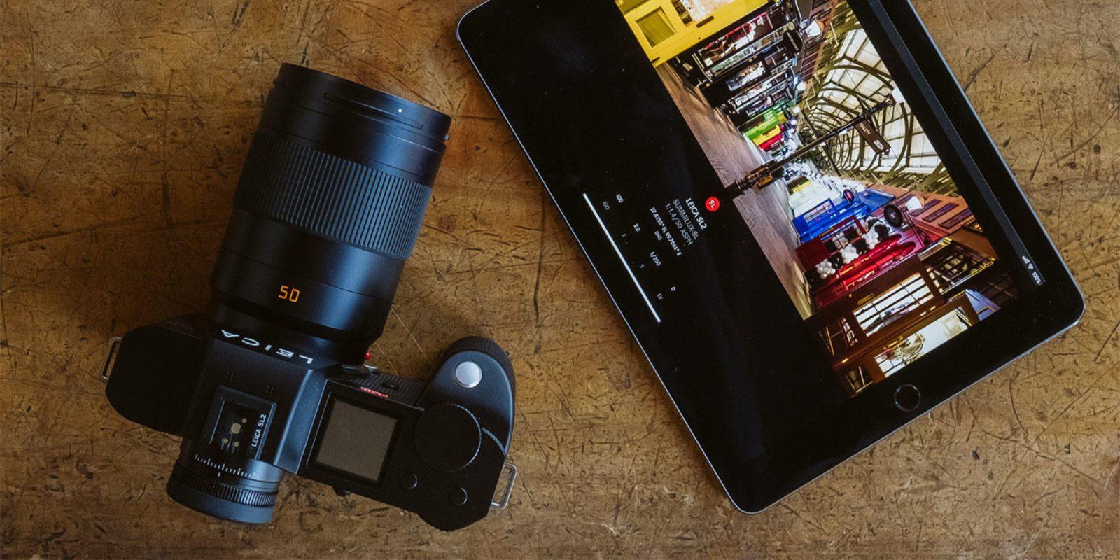 5K video headlines Leica's new 47.3-megapixel, full-frame SL2 camera