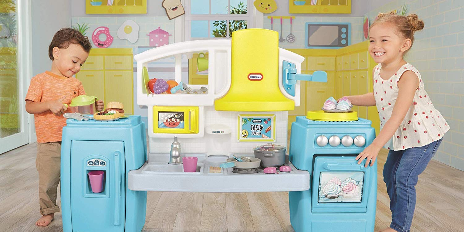 Kids will go wild for the giant Little Tikes Kitchen: $60 or ...