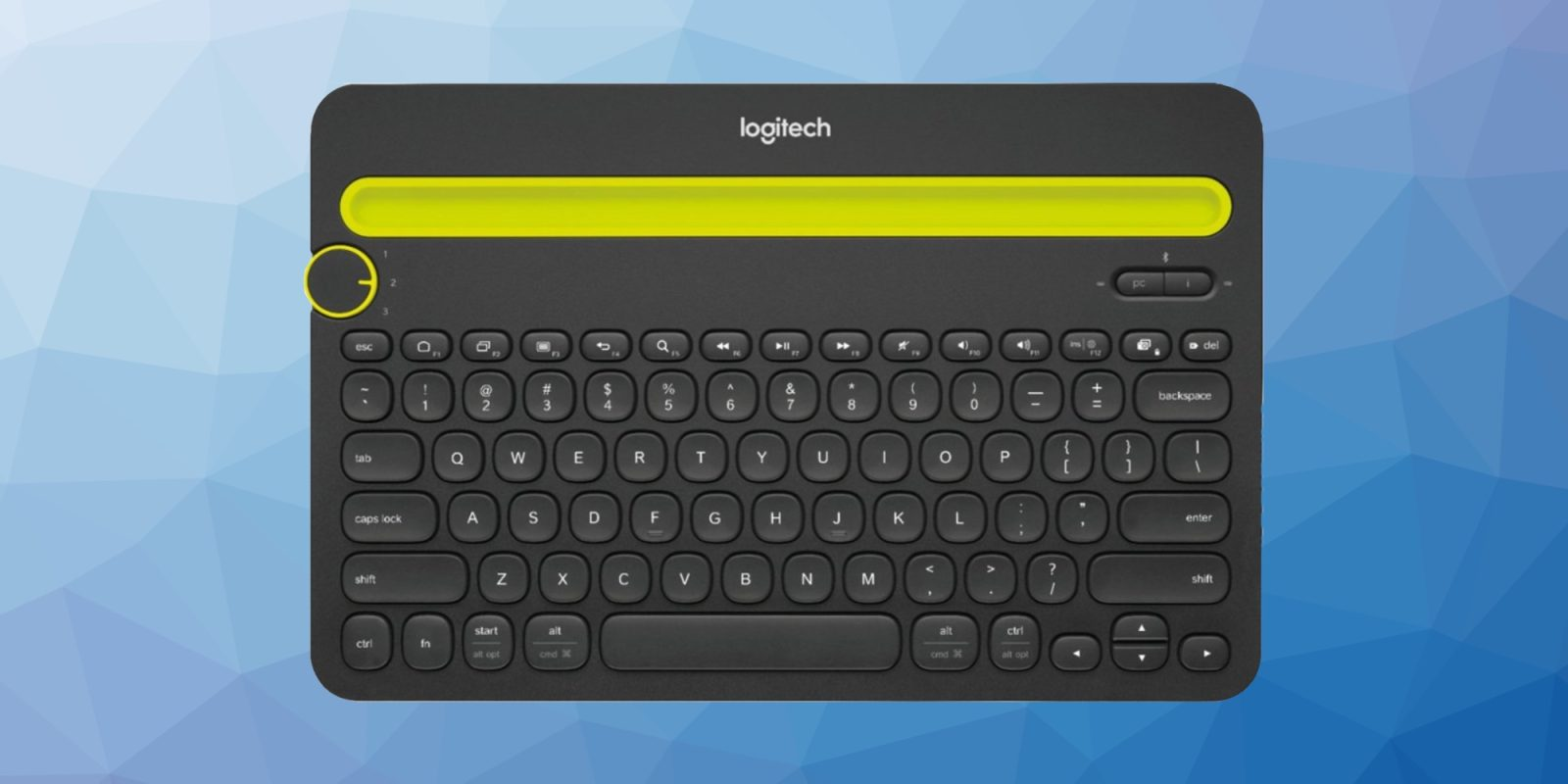 Pair a MacBook, iPad, and more with Logitech's Multidevice Keyboard at $20