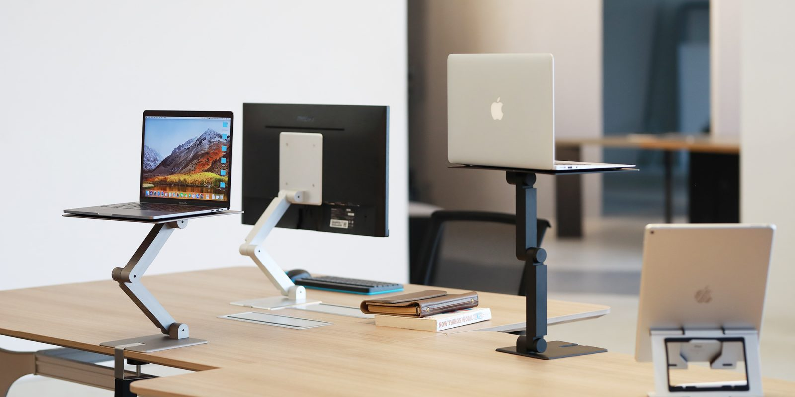 Get on your feet with the portable Maxtand laptop/device stand-up desk mount $79 (Reg. $109)