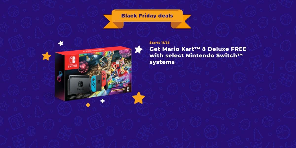 Nintendo Black Friday bundle