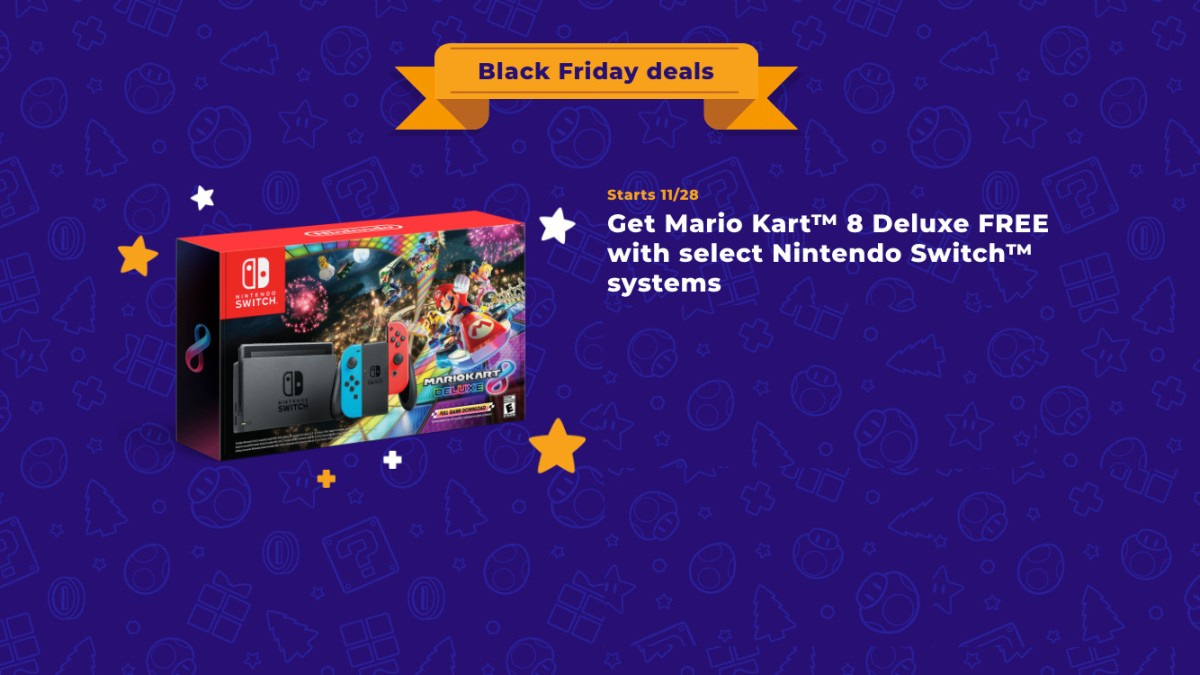 Nintendo Black Friday bundle