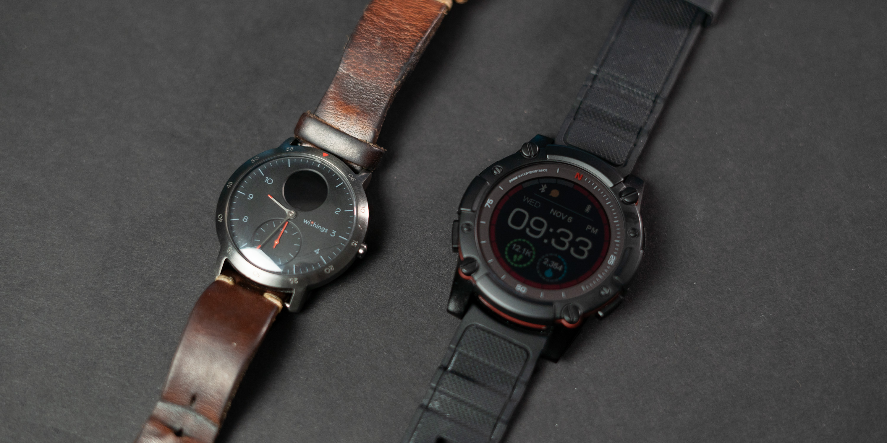 PowerWatch Series 2 with the Withings Steel HR Sport