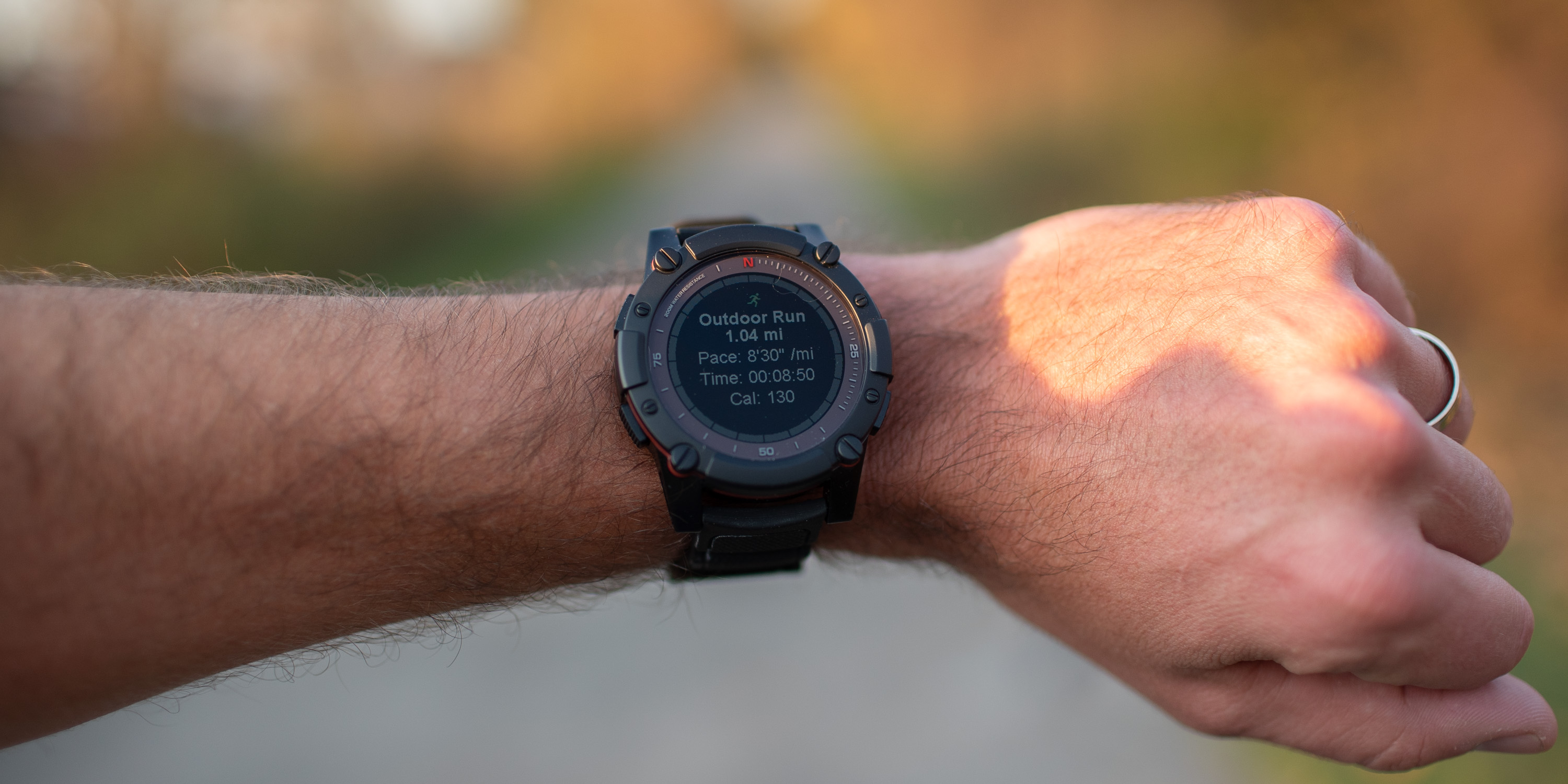 Tracking a run with the PowerWatch Series 2