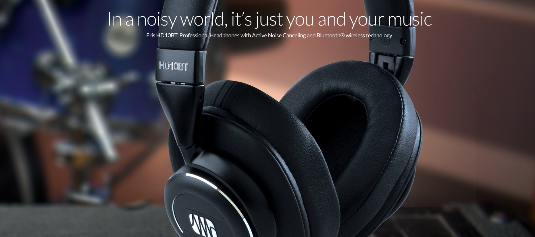 New PreSonus Eris HD10BT Headphones
