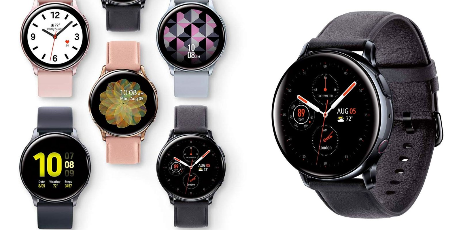 Samsung's Galaxy Watch Active2 will get ECG soon, now starts at $230 ($50 off)