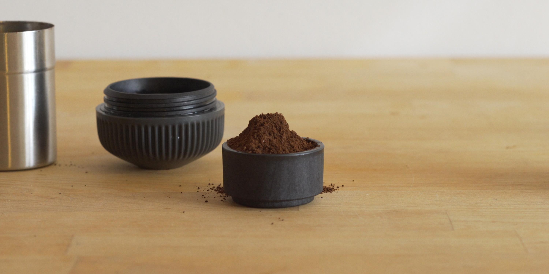 Full filter basket from Nanopresso