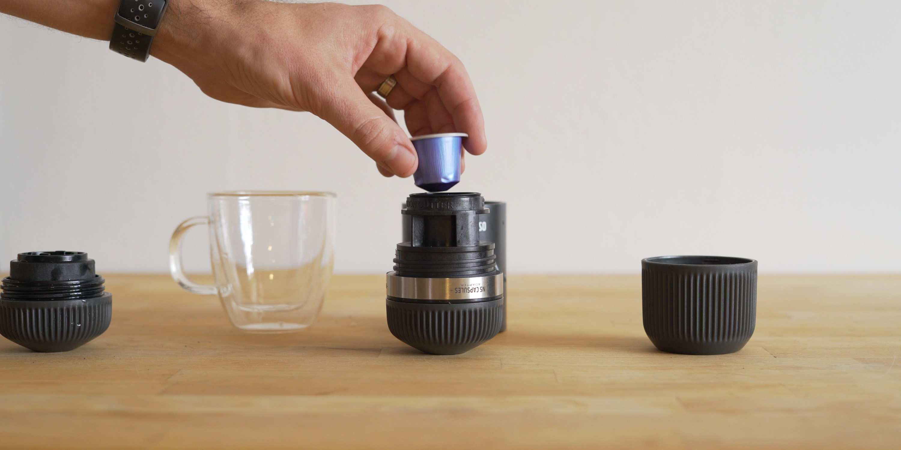 Using the NS adapter for Nanopresso