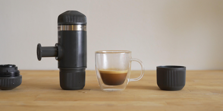 Espresso from Nanopresso