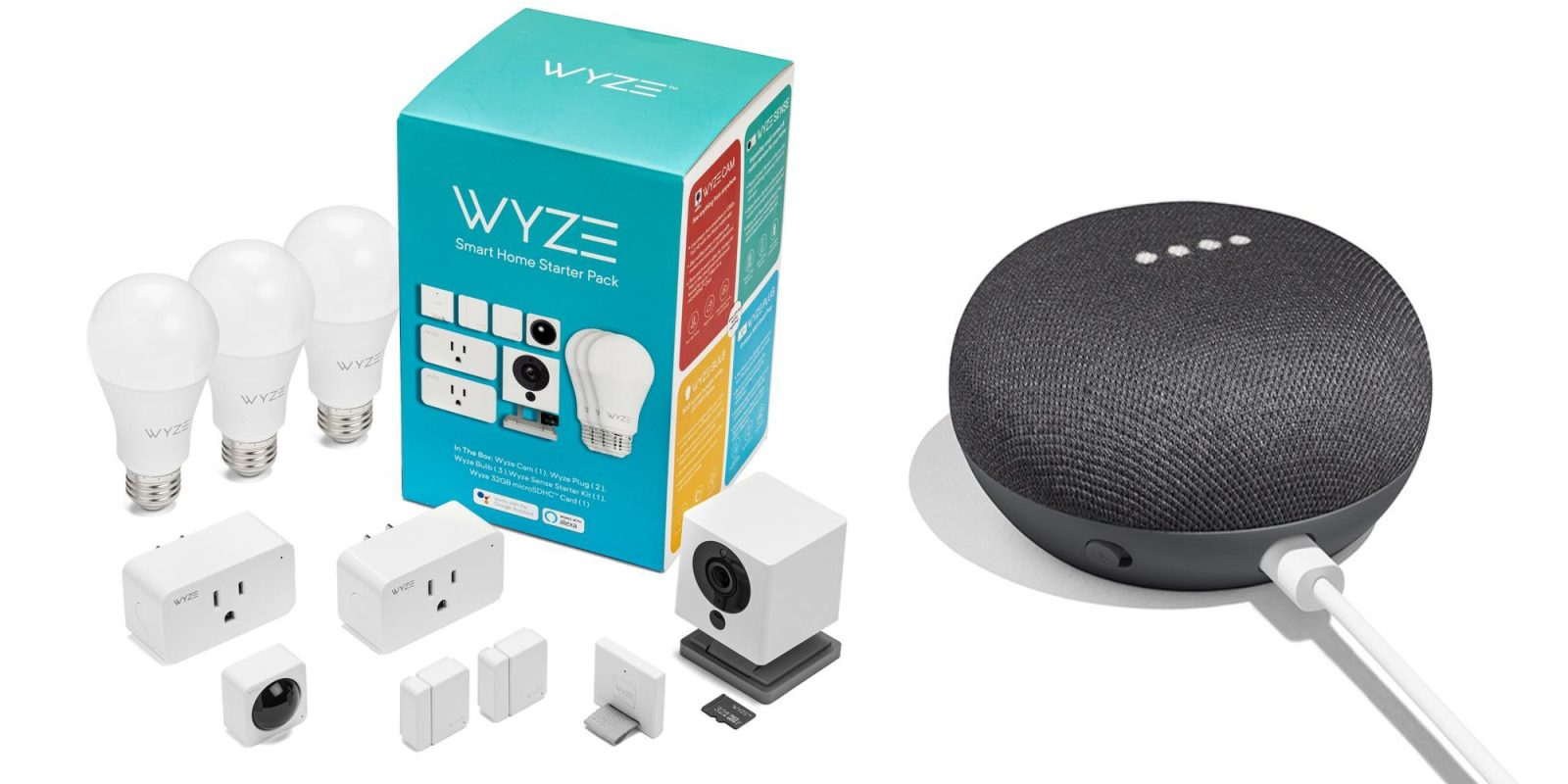 Score a Home Mini for free with Wyze's Smart Home Bundle at $109 ($158 value)