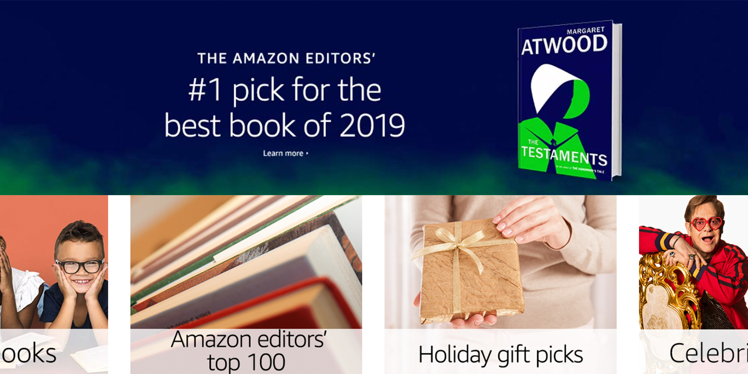 Amazon's Best Books of 2019 announced with 100 top titles, more
