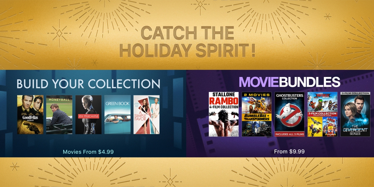 Apple Black Friday Movie Sale Holiday Films Bundles More 9to5toys