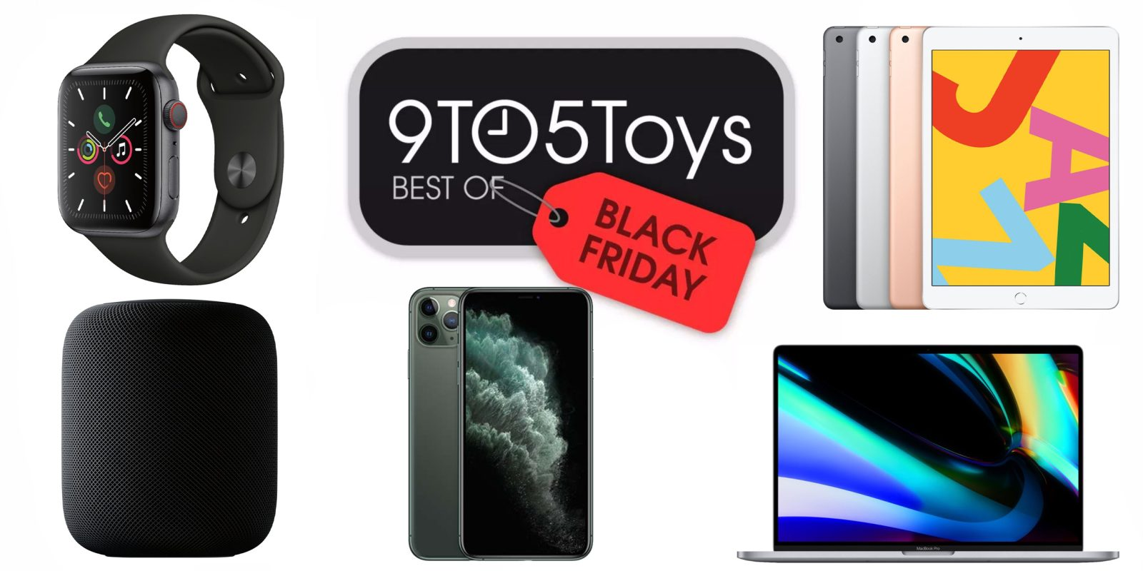 Best of Black Friday 2019 – Apple: 10.2-inch iPad $249, Apple Watch Series 3 $129, more