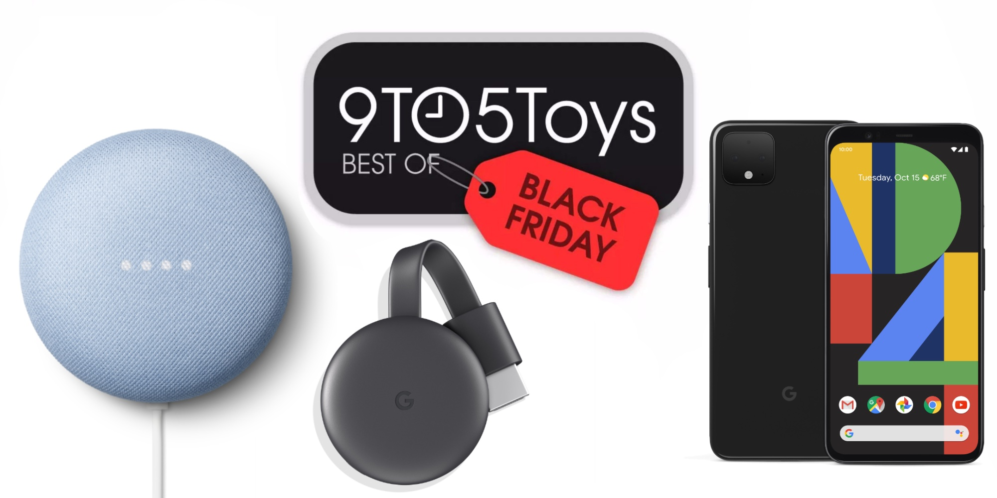 Best Google Black Friday Deals Home Mini Chromecast More 9to5toys
