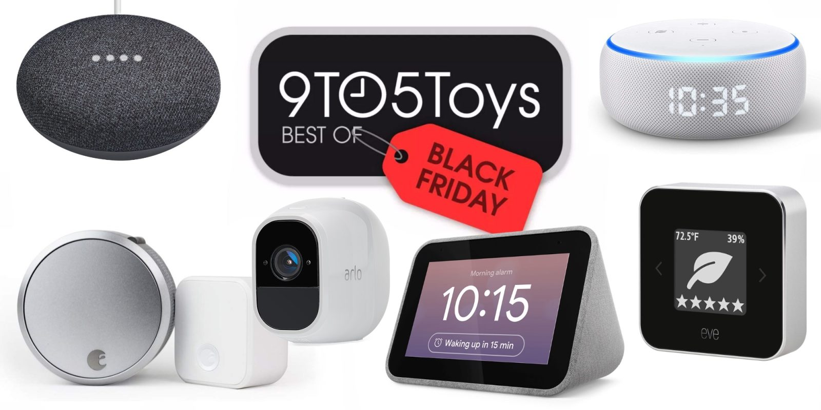 Best of Black Friday 2019 – Smart Home: Home Mini $19, Echo Dot $22, Ring, Arlo, more