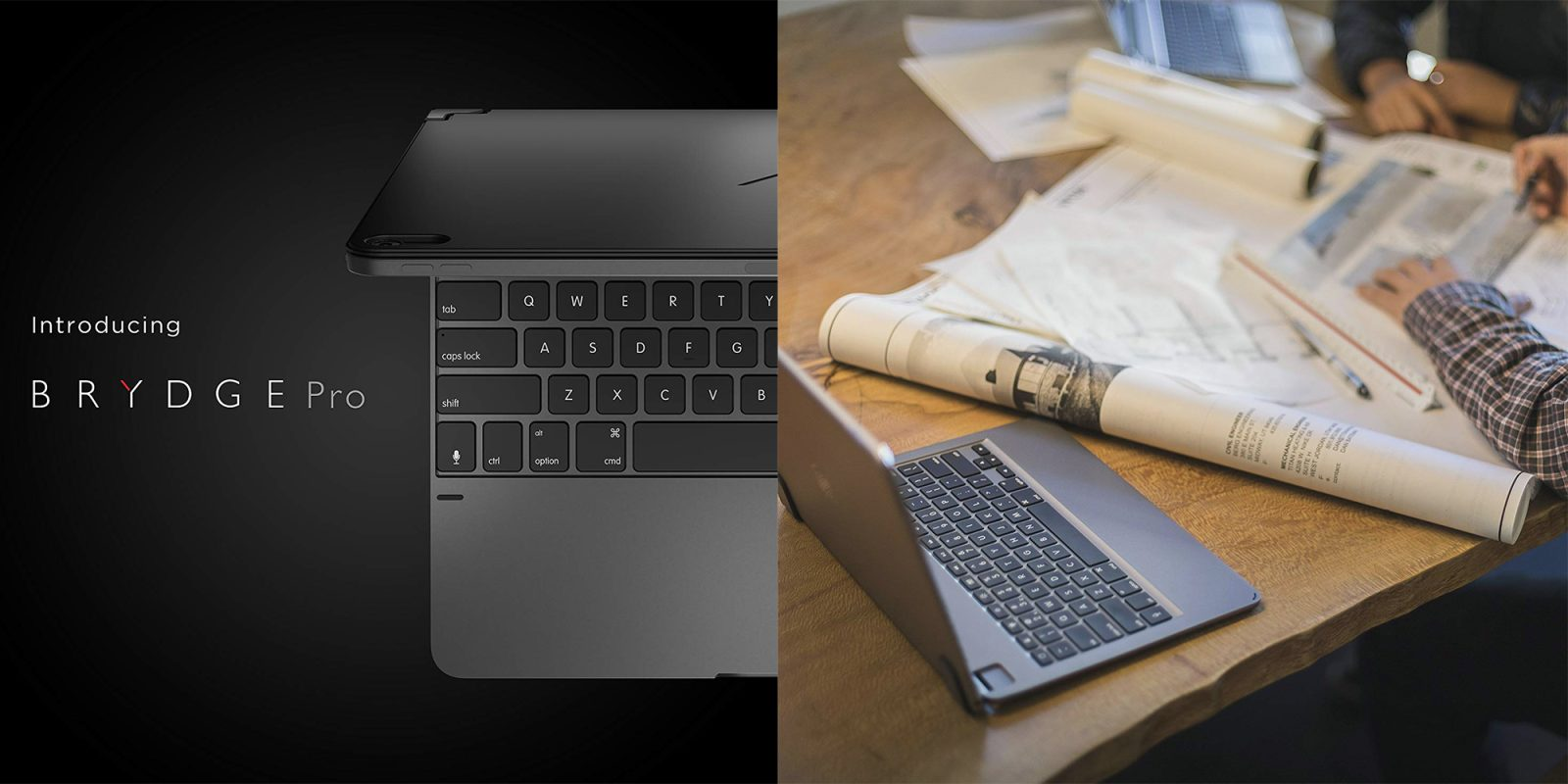 Brydge aluminum iPad keyboards on sale for all models from $50