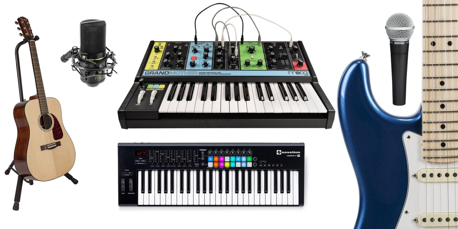 Early Black Friday audio recording deals from $5: keyboard