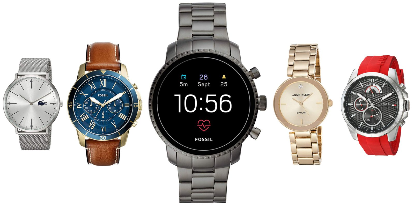 Amazon's huge watch sale starts at $13, today only: Fossil, Lacoste, many more