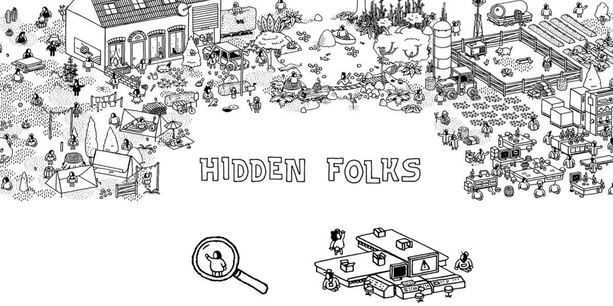 Hidden Folks Holiday iOS game sale