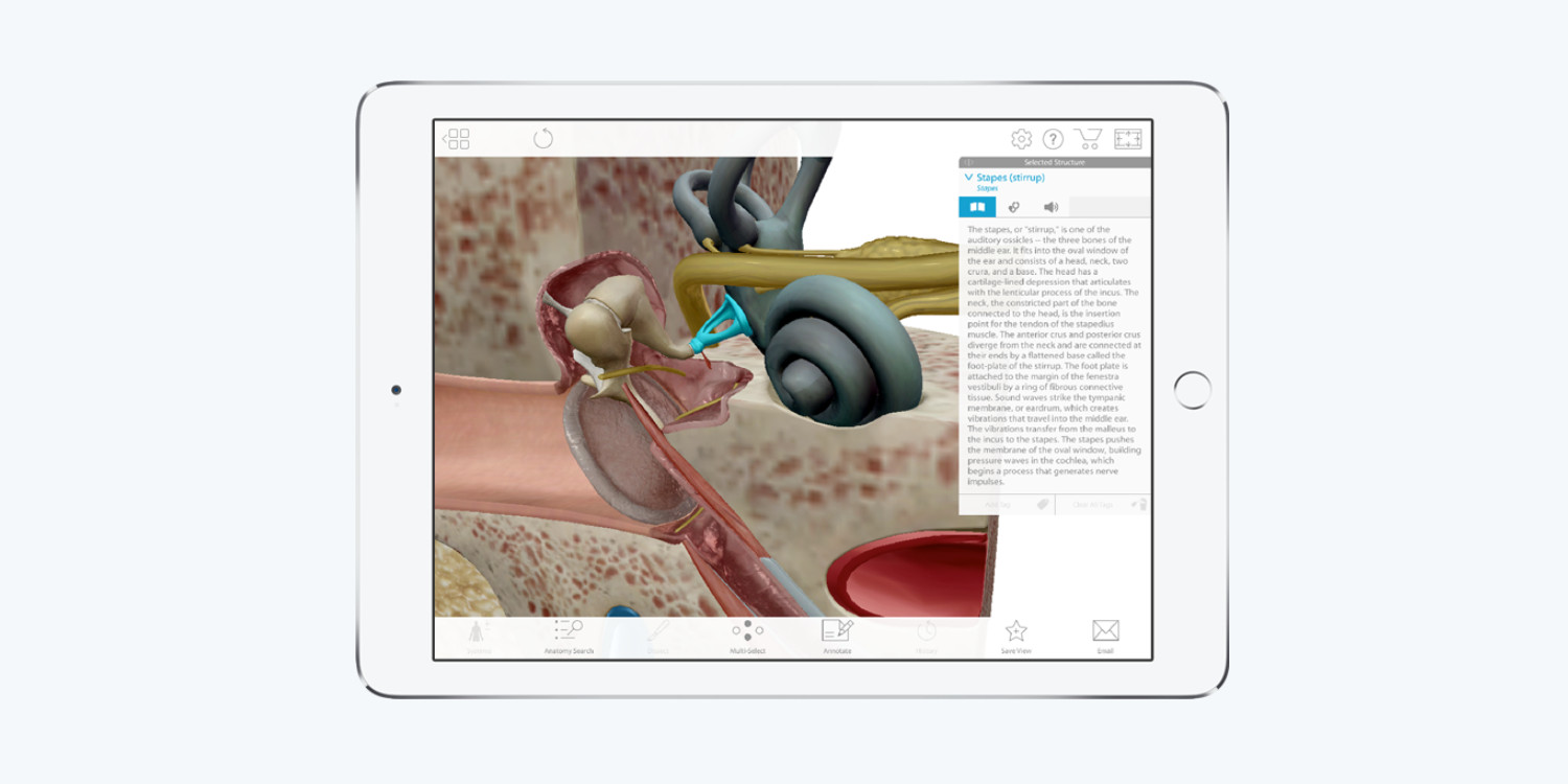 The top-ranked Human Anatomy Atlas 2020 for iOS drops to just $1 (Reg. $25)