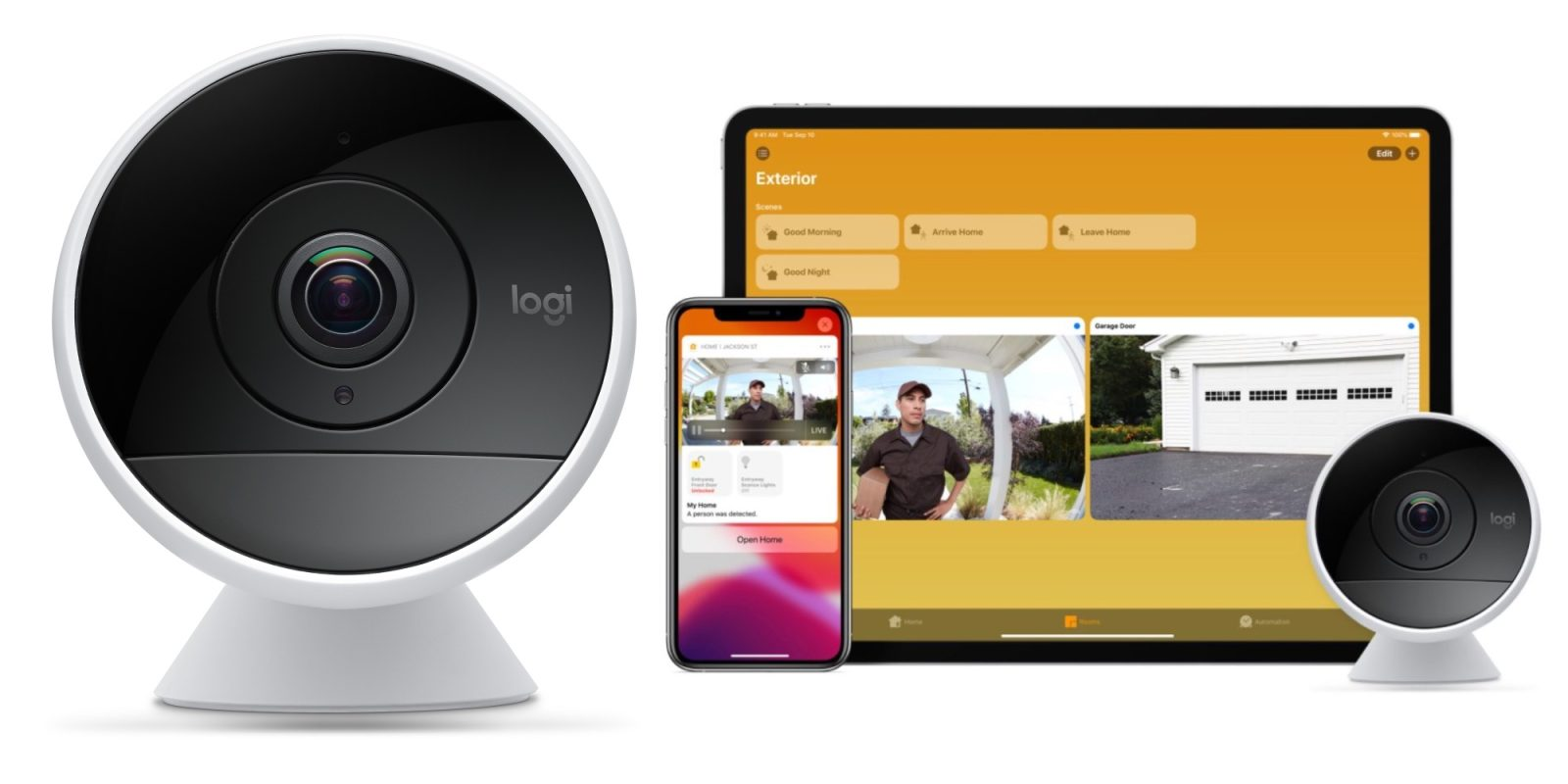 Logitech Circle 2 works with Apple's new HomeKit Secure Video: $130 ($50 off)
